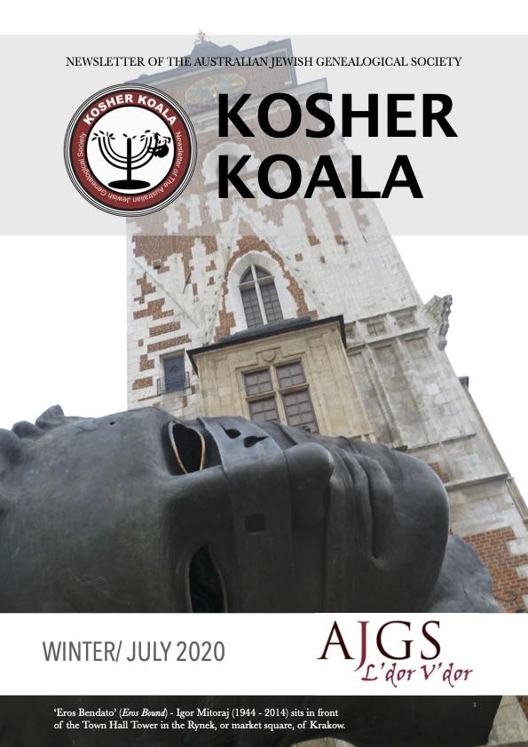 KOSHER KOALA WINTER JULY 2020
