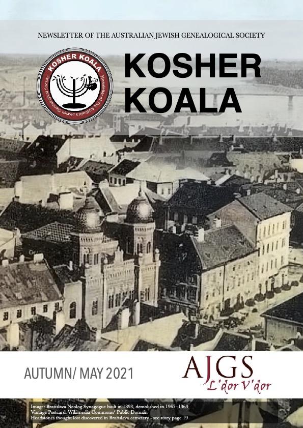 KOSHER KOALA AUTUMN/ MAY 2021